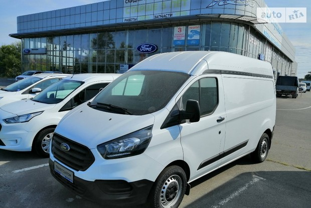 ? Кредит на Ford Transit Custom под 0.0%