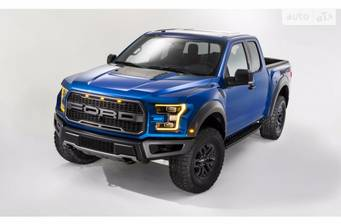 Ford F-150 Raptor 3.5 AT (450 л.с.) SuperCab AWD 2018