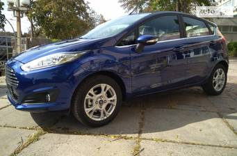 Ford Fiesta 1.6 АT (105 л.с.) 2018