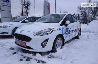 Ford Fiesta 1.0 Ecoboost AT (100 л.с.) 2018
