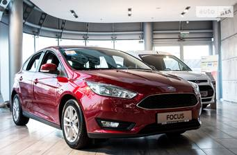 Ford Focus 1.0 Ecoboost AT (125 л.с.) 2017