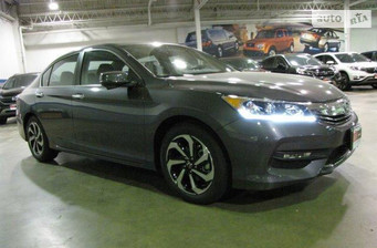 Honda Accord 2.4 AT (201 л.с.) Elegance 2016