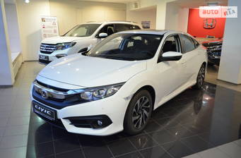 Honda Civic 1.6 CVT (125 л.с.) 2018