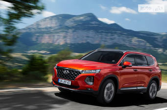 Hyundai Santa FE 2020 Top+ Brown