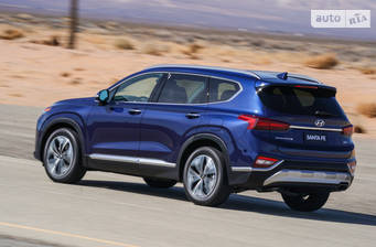 Hyundai Santa FE 2020 Top+ Brown