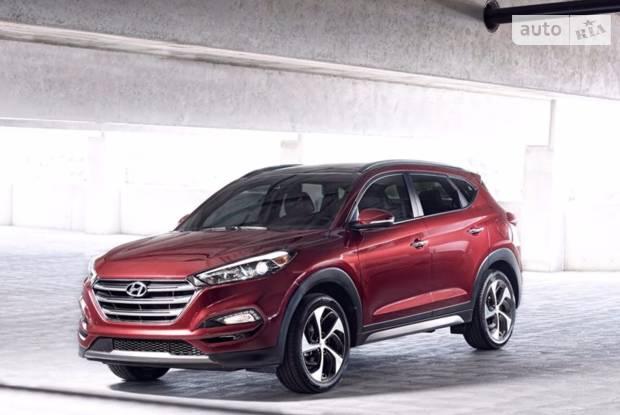 Hyundai Tucson Style Red