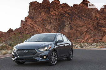 Hyundai Accent HC 1.6 MPI АT (123 л.с.) 2018