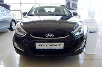 Hyundai Accent 1.4 MPI CVT (100 л.с.) 2018