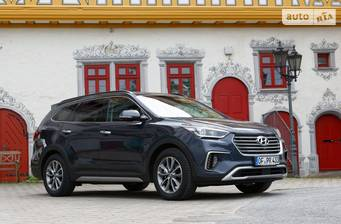Hyundai Grand Santa Fe 2020 VIP Panorama Brown