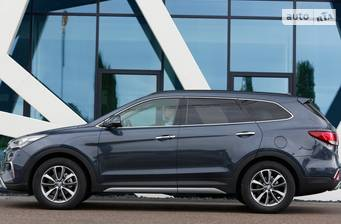 Hyundai Grand Santa Fe 2019 VIP Brown