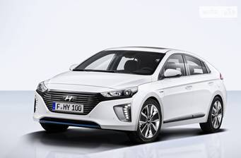 Hyundai Ioniq 1.6 DCT (105 л.с.) Hybrid 2017
