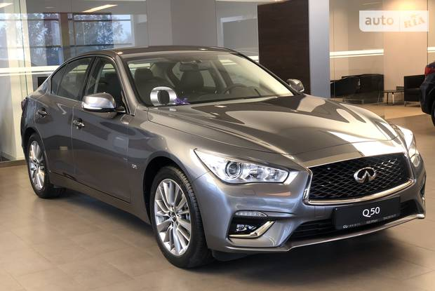Infiniti Q50 Luxe Pack 1 + Pack 2