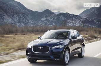 Jaguar F-Pace 2.0D AT (180 л.с.) AWD Prestige 2018