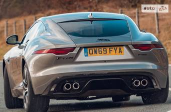 Jaguar F-Type P450 5.0i Supercharged AT (450 л.с.) 2020