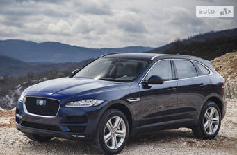 Jaguar F-Pace 3.0D AT (300 л.с.) AWD 2018