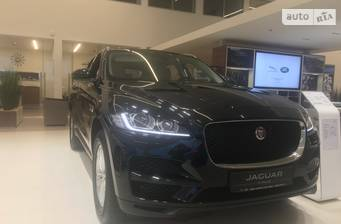 Jaguar F-Pace 2.0D AT (180 л.с.) AWD 2018