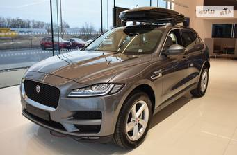 Jaguar F-Pace 2.0D AT (180 л.с.) AWD 2019