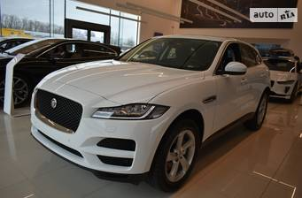 Jaguar F-Pace 2.0D AT (180 л.с.) AWD 2021