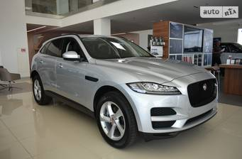 Jaguar F-Pace 2.0D AT (180 л.с.) AWD 2020