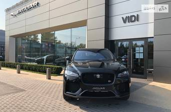 Jaguar F-Pace SVR 5.0 AT (550 л.с.) AWD 2020