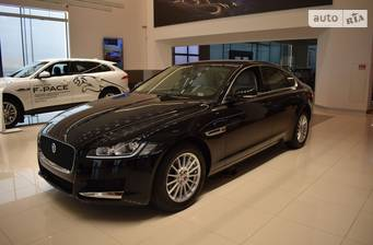 Jaguar XF 2.2D I4 AT (190 л.с.) RWD 2019