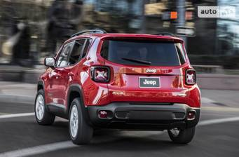Jeep Renegade 2.4 АТ (180 л.с.) 2018