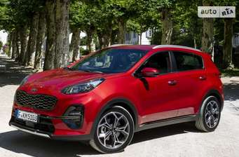 Kia Sportage 1.6 T-GDi AT (177 л.с.) 4WD GT Line 2018