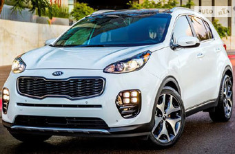 Kia Sportage New 1.7D MT (115 л.с.) Comfort 2017