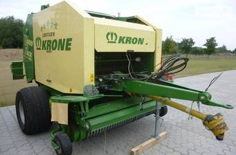 Krone Vario Pack 1250 Multi-Cut 2018
