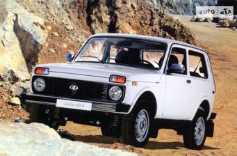 Lada 4x4 1.7 МТ (83 л.с.) 2018