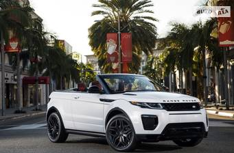 Land Rover Range Rover Evoque Cabrio 2.0 Si4 AT (240 л.с.) 2018