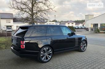 Land Rover Range Rover 5.0 S/C АТ (565 л.с.) AWD 2019