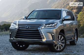 Lexus LX 570 AT (367 л.с.) Luxury+ 2017