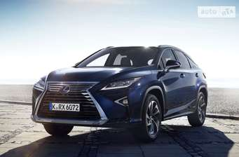Lexus RX New 450h AT (313 л.с.) AWD Executive + 2017