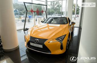 Lexus LC 2019 Yellow Edition