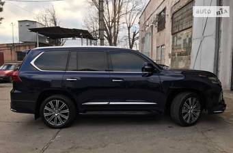 Lexus LX 570 AT (383 л.с.) (8s) 2018