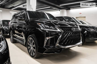 Lexus LX 570 AT (367 л.с.) 2018