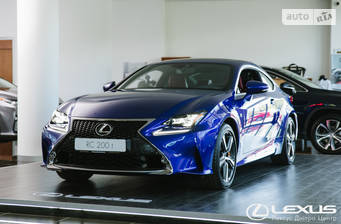Lexus RC 300 AT (245 л.с.) 2018