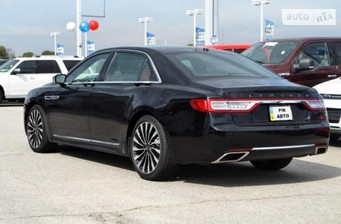 Lincoln Continental 3.0 AT (400 л.с.) AWD Black Label 2017