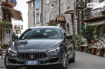Maserati Ghibli 3.0 АТ (350 л.с.) 2018