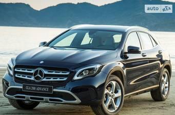 Mercedes-Benz GLA-Class GLA 180 MT (122 л.с.) 2017
