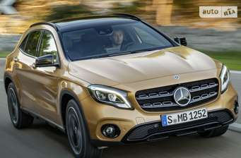 Mercedes-Benz GLA-Class GLA 220d AT (177 л.с.) 4Matic  2017