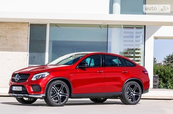 Mercedes-Benz GLE-Class GLE Coupe 350d AT (255 л.с.) 4Matic AMG 2017
