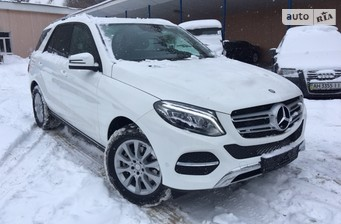 Mercedes-Benz GLE-Class GLE Coupe 350d AT (258 л.с.) 4Matic  2016