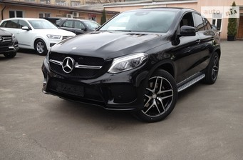 Mercedes-Benz GLE-Class GLE Coupe 400 AT (333 л.с.) 4Matic  2017