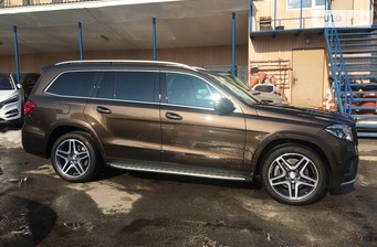 Mercedes-Benz GLS-Class GLS 350 AT (258 л.с.)  4Matic  2017