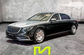Mercedes-Benz Maybach S 650 AT (630 л.с.) 2020