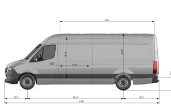 Mercedes-Benz Sprinter груз. 2021 base