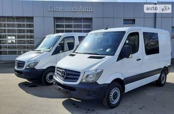 Mercedes-Benz Sprinter пасс. Passanger Van 214 CDI MT (143 л.с.) 3250 2018