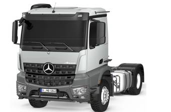 Mercedes-Benz Arocs 2042 LS AT (421 л.с.) 4х2 2018
